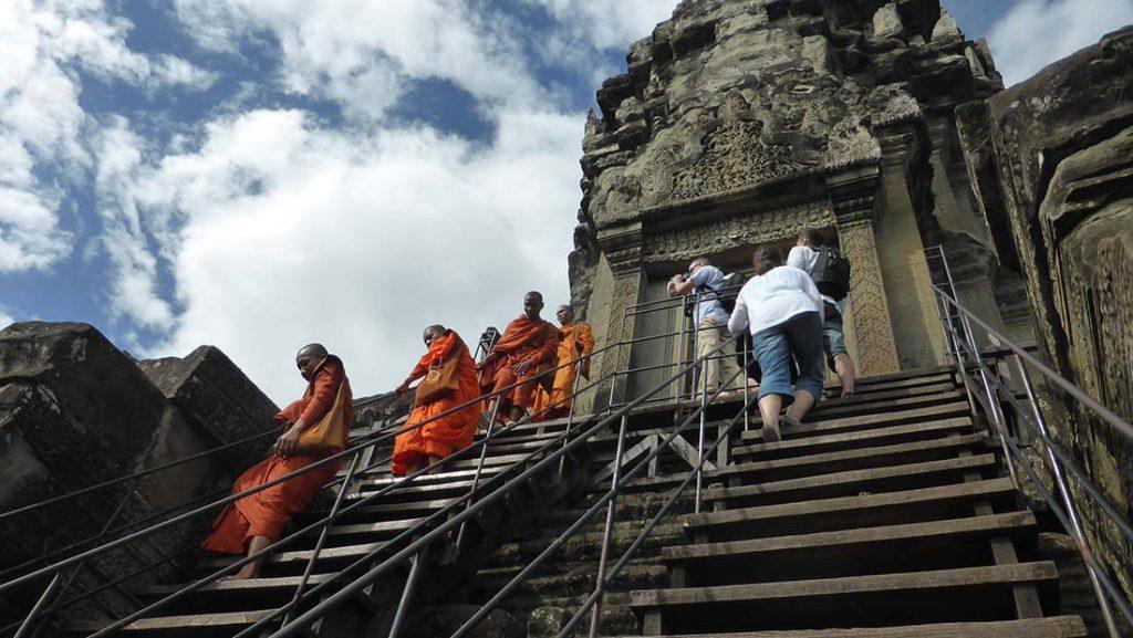 Acension Budista. Fotografía de Clara Alfaro.